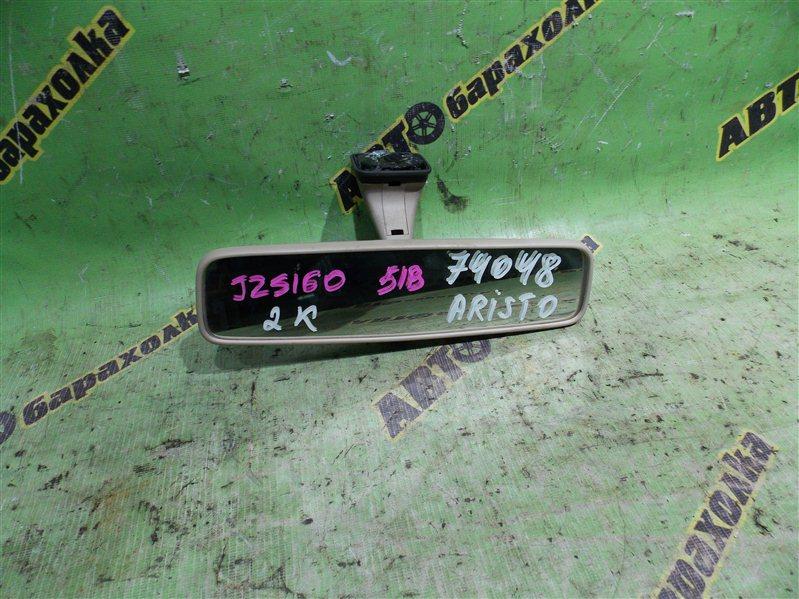 Зеркало заднего вида Toyota Aristo JZS160 2JZ-GE 2003