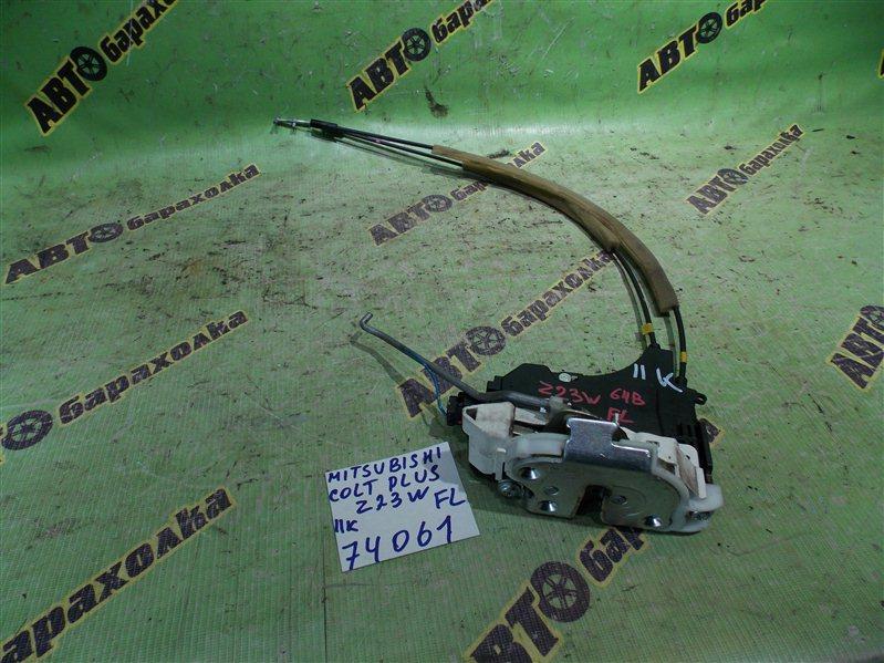 Замок двери Mitsubishi Colt Plus Z23A 4A91 2008 передний левый