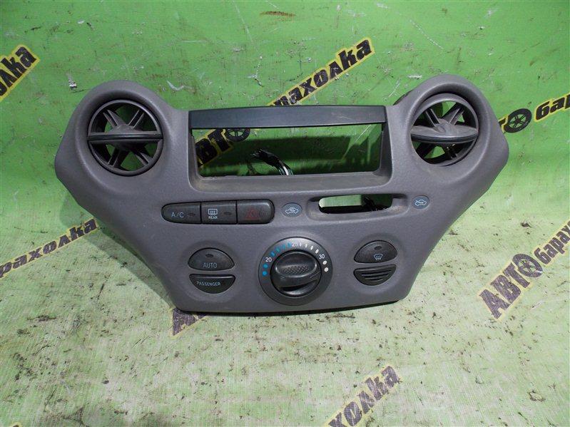 Климат-контроль Toyota Platz NCP12 1NZ-FE 2001