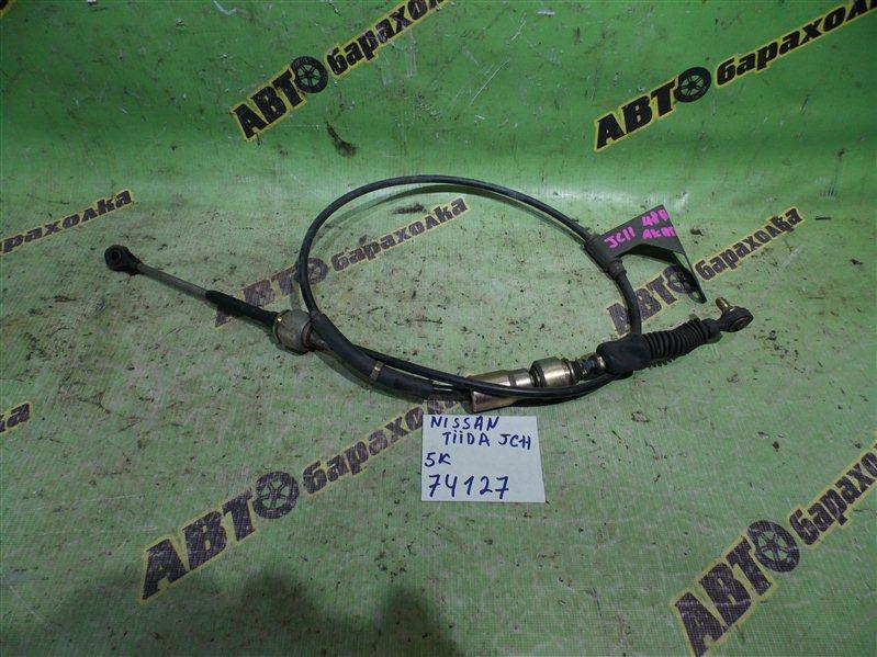 Трос переключения акпп Nissan Tiida JC11 MR18 2005