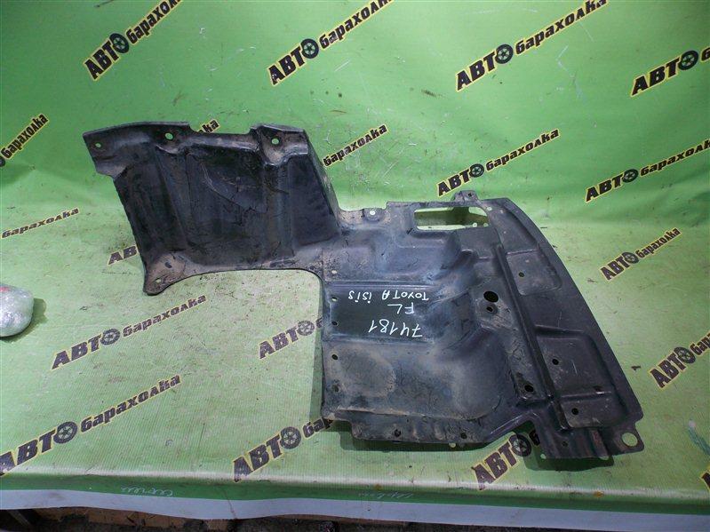 Защита двигателя Toyota Isis ZNM10 1ZZ-FE 2005 передняя левая