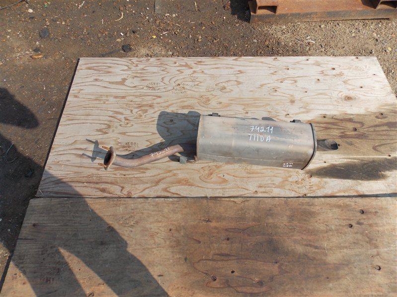 Глушитель Nissan Tiida JC11 MR18 2005