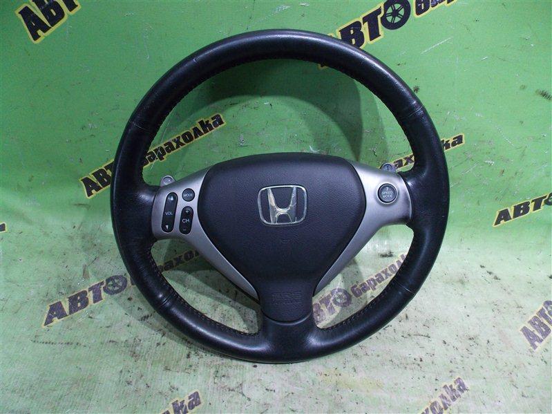 Руль с airbag Honda Airwave GJ1 L15A 2009
