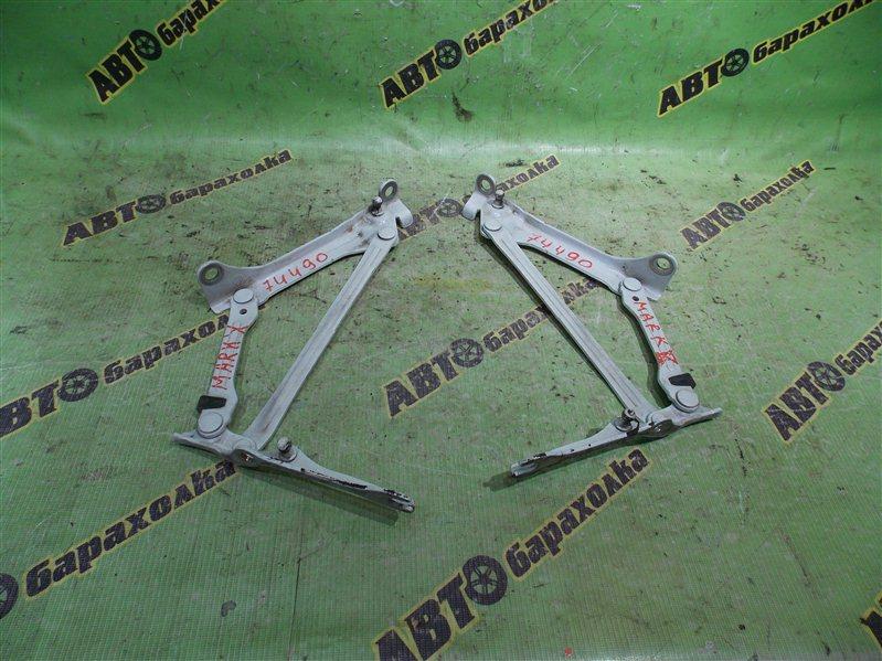 Петля крышки багажника Toyota Mark X GRX120 4GR-FSE 2006 задняя