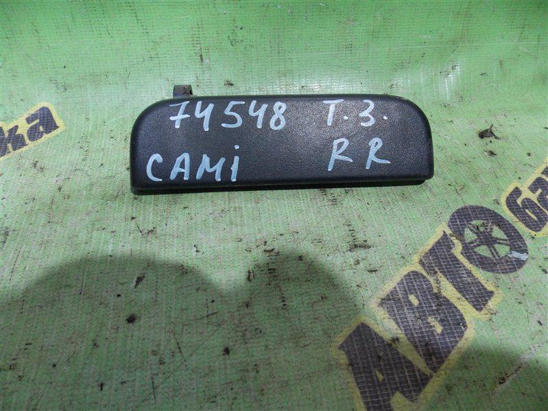 Ручка двери внешняя Toyota Cami J122E K3-VE 2001 задняя правая