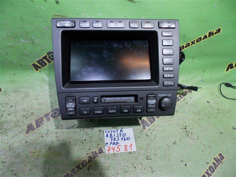 Монитор Toyota Aristo JZS160 2JZ-GE 2003