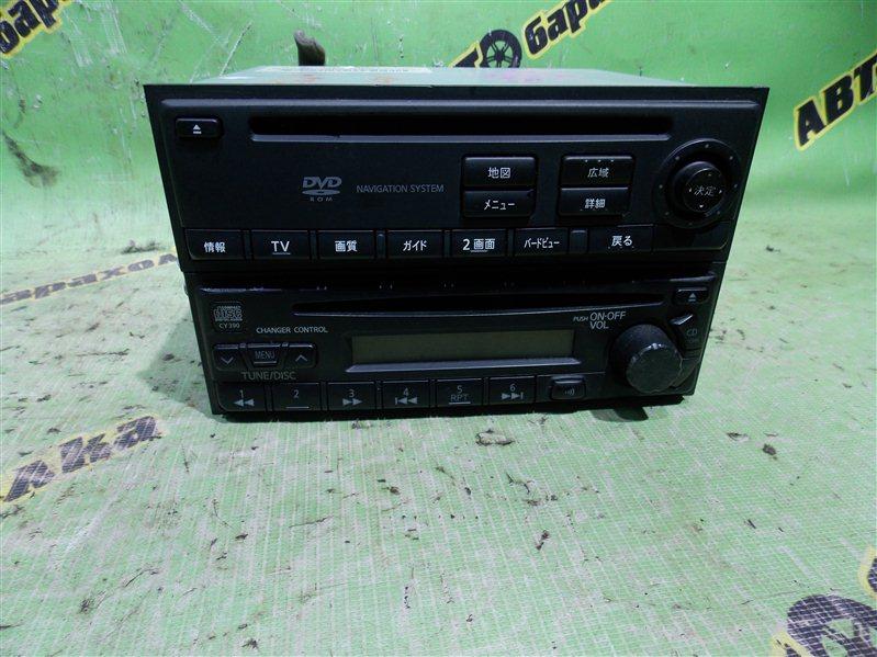 Магнитофон Nissan Avenir W10 SR18(DE) 1996