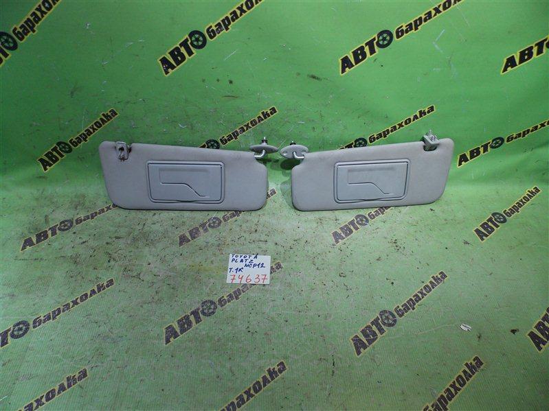 Козырек солнцезащитный Toyota Platz NCP12 1NZ-FE 2001 передний