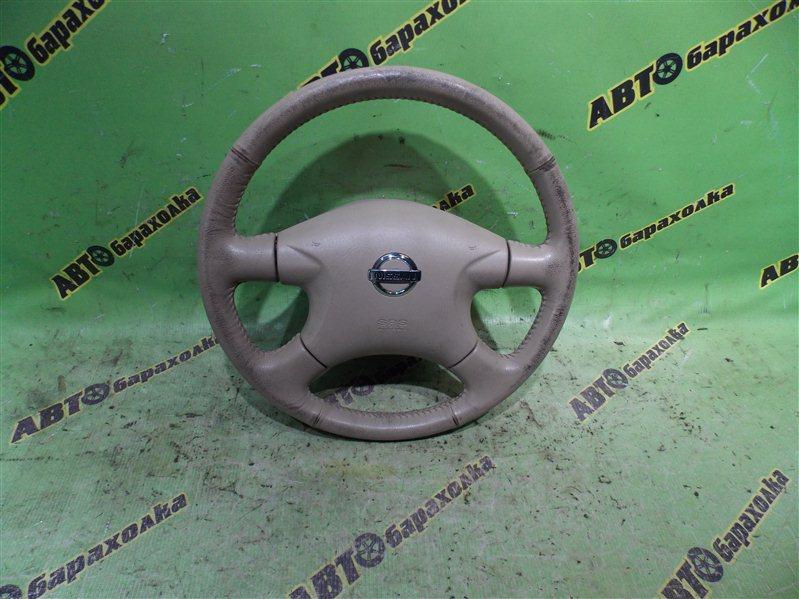 Руль с airbag Nissan Serena RC24 QR25(DE) 2002