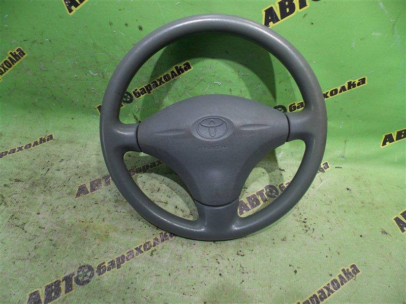 Руль с airbag Toyota Vitz SCP10 1SZ-FE 2000