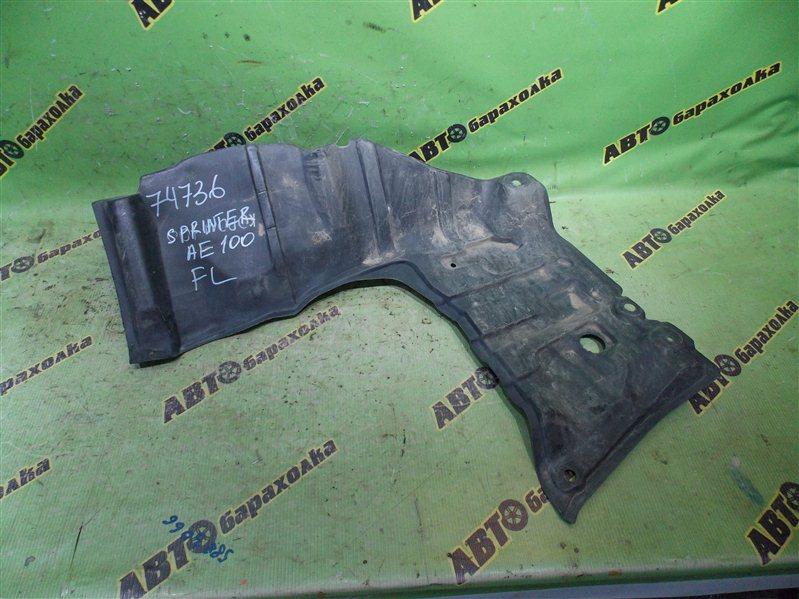 Защита двигателя Toyota Sprinter AE100 5AFE передняя левая