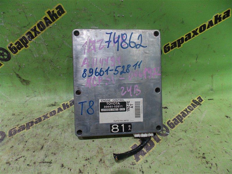 Блок efi Toyota Bb NCP31 1NZ-FE 2001