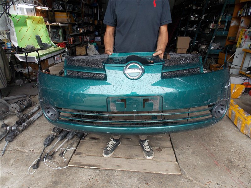Бампер Nissan Note E11 передний