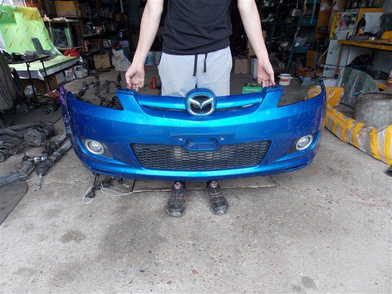 Бампер Mazda Demio DY3W передний