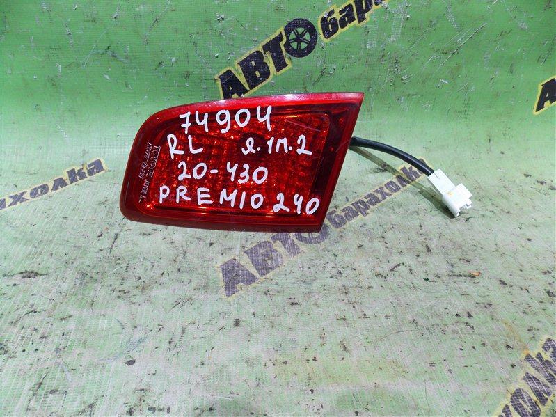 Вставка между стопов Toyota Premio ZZT240 задняя левая