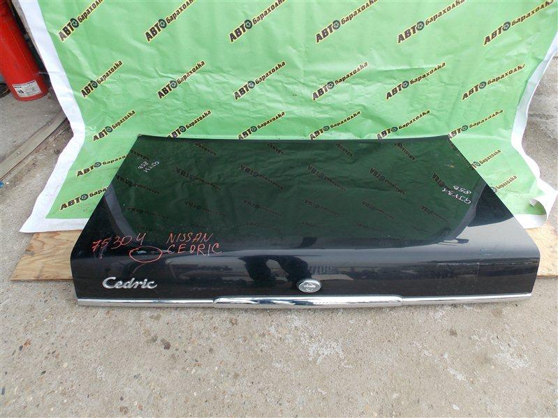 Крышка багажника Nissan Cedric QJY31 NA20(P) 2010 задняя