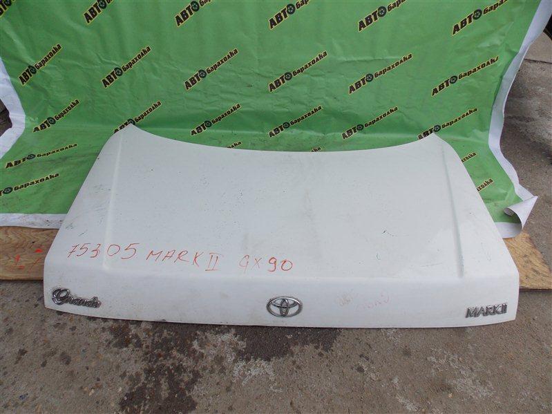 Крышка багажника Toyota Mark Ii GX90 1G-FE 1993 задняя