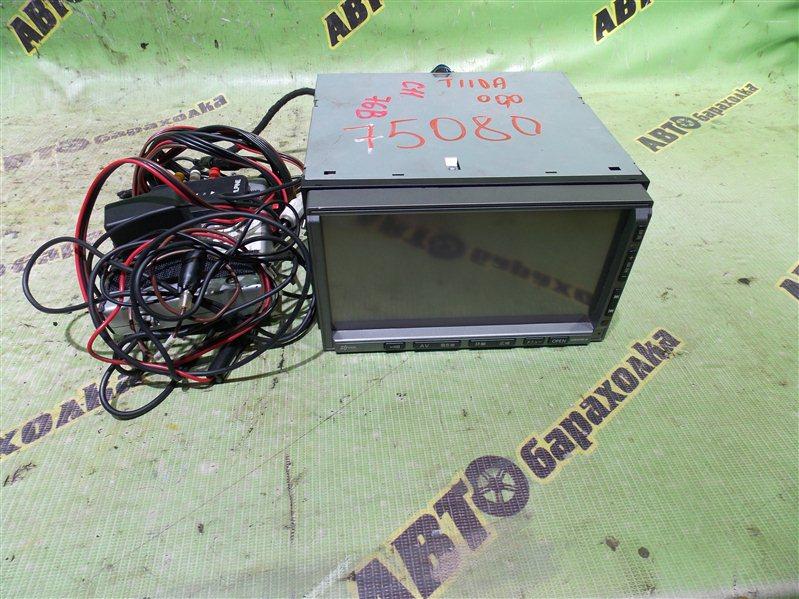 Магнитофон Nissan Tiida C11 HR15 2009