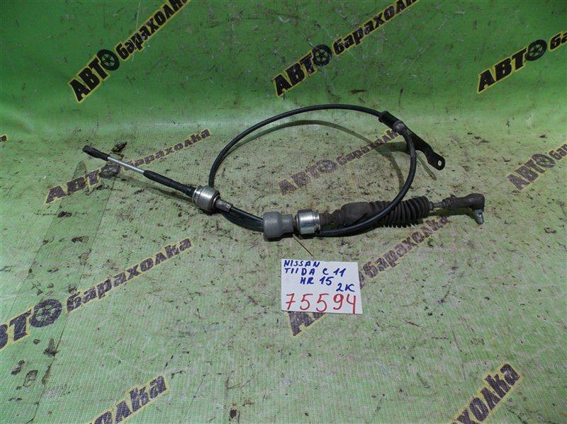 Трос переключения акпп Nissan Tiida C11 HR15 2009