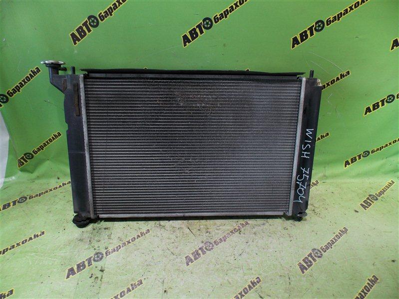 Радиатор основной Toyota Wish ZNE10 1ZZ-FE 2008