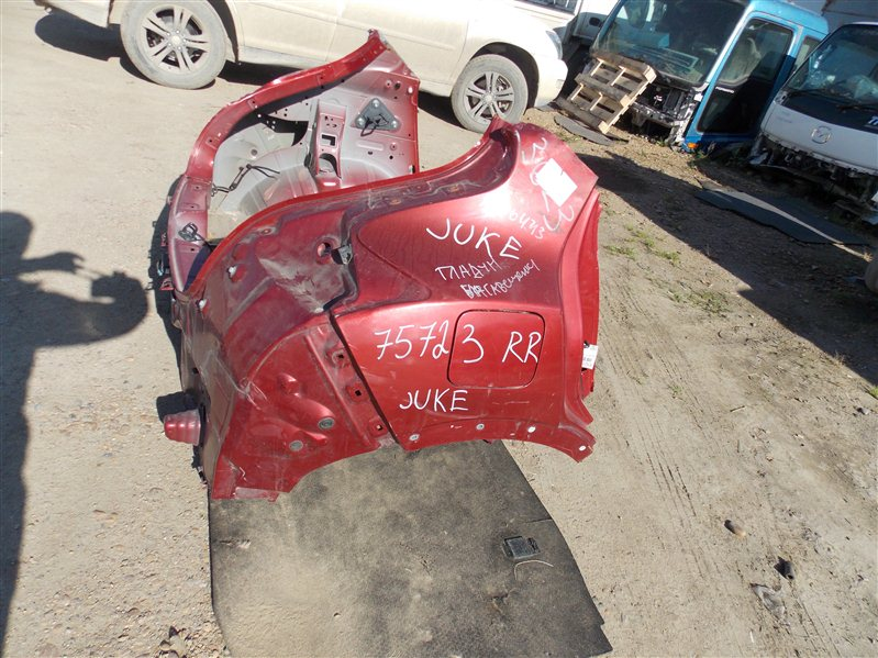 Крыло Nissan Juke YF15 HR15DE 2011 заднее правое