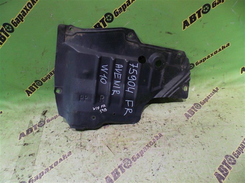 Защита двигателя Nissan Avenir W10 SR18(DE) 1996 передняя правая