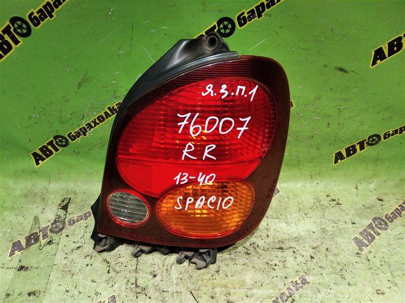 Стоп Toyota Corolla Spacio AE111 4A-FE 1996 задний правый