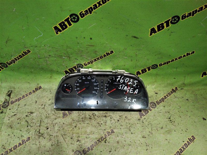Спидометр Nissan Stagea WGC34 RB25DE 1999