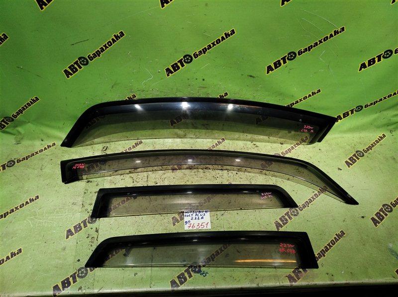 Ветровики комплект Mitsubishi Colt Plus Z23A 4A91 2008