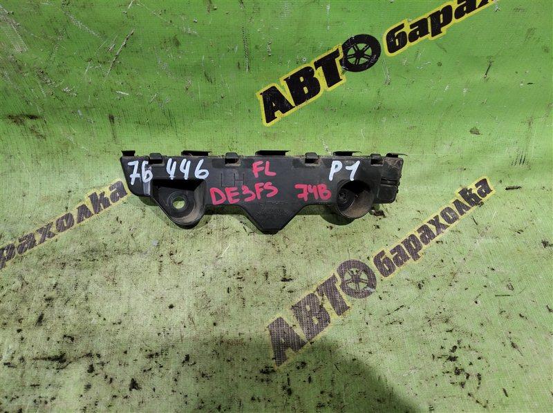 Крепление бампера Mazda Demio DE3FS ZJ 2007 переднее левое