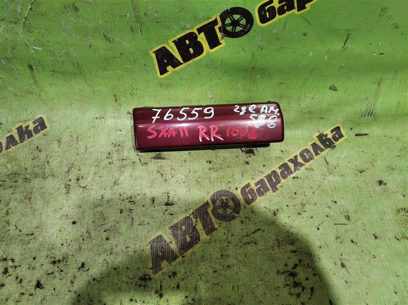 Планка под стоп Toyota Rav4 SXA11 3S-FE 1995 задняя правая