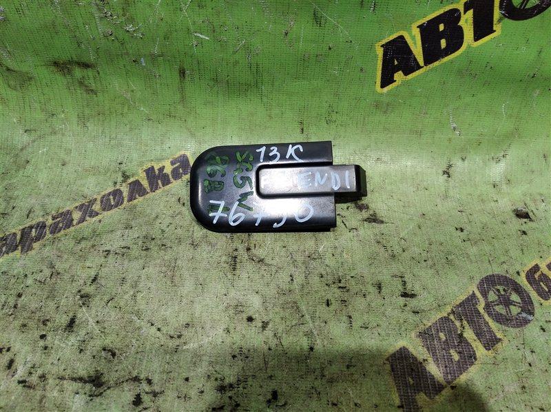 Заглушка полоза сдвижной двери Mazda Bongo Friendee SG5W J5 1997 левая