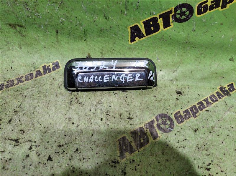 Ручка двери внешняя Mitsubishi Challenger K99 6G74 1998 задняя правая
