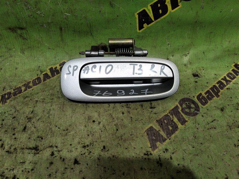 Ручка двери внешняя Toyota Corolla Spacio AE111 4A-FE 1996 задняя правая