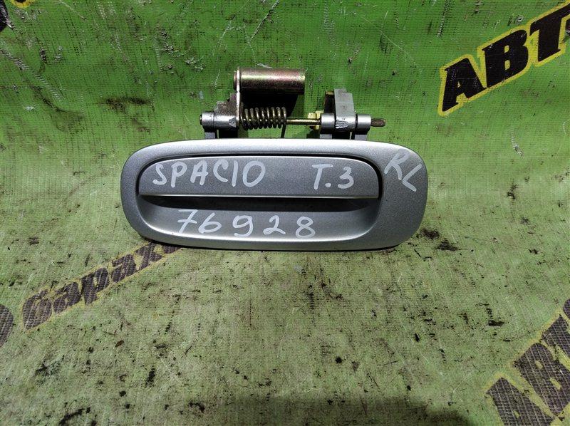 Ручка двери внешняя Toyota Corolla Spacio AE111 4A-FE 1996 задняя левая