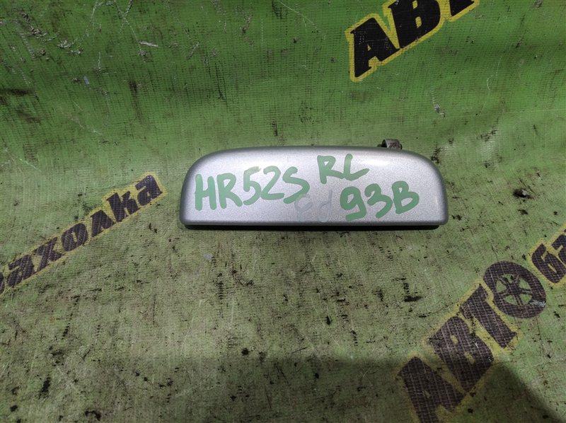 Ручка двери внешняя Chevrolet Cruze HR52S M13A 2004 задняя левая