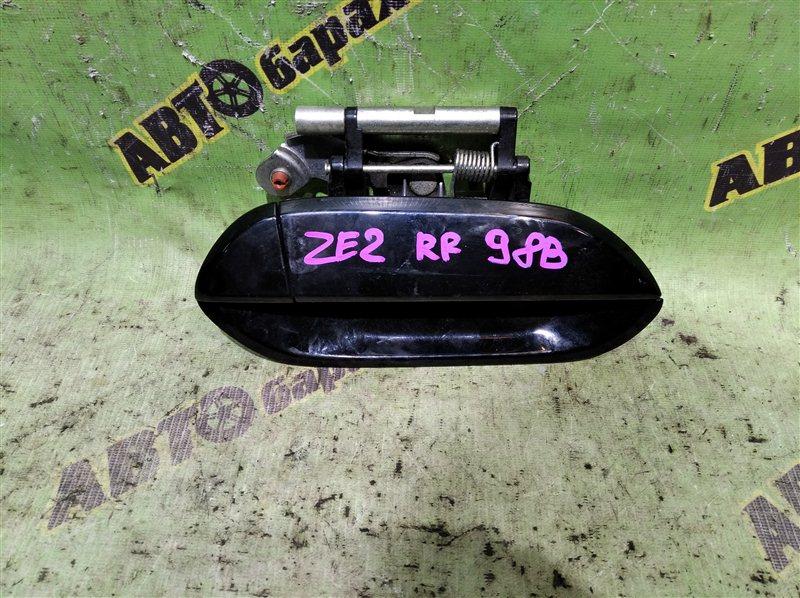 Ручка двери внешняя Honda Insight ZE2 LDA 2009 задняя правая