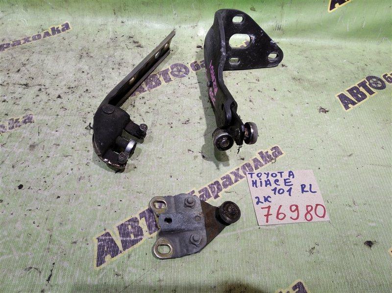 Ролик раздвижной двери Toyota Hiace RZH101 2RZ-E 1999 задний левый