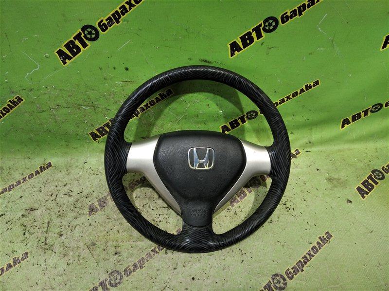 Руль с airbag Honda Fit GD1 L13A 2007