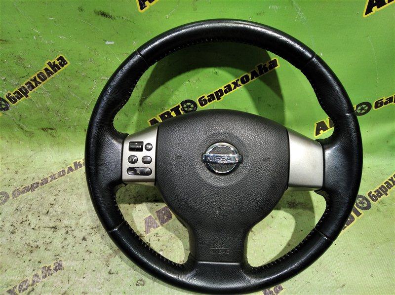 Руль с airbag Nissan Tiida JC11 MR18 2005