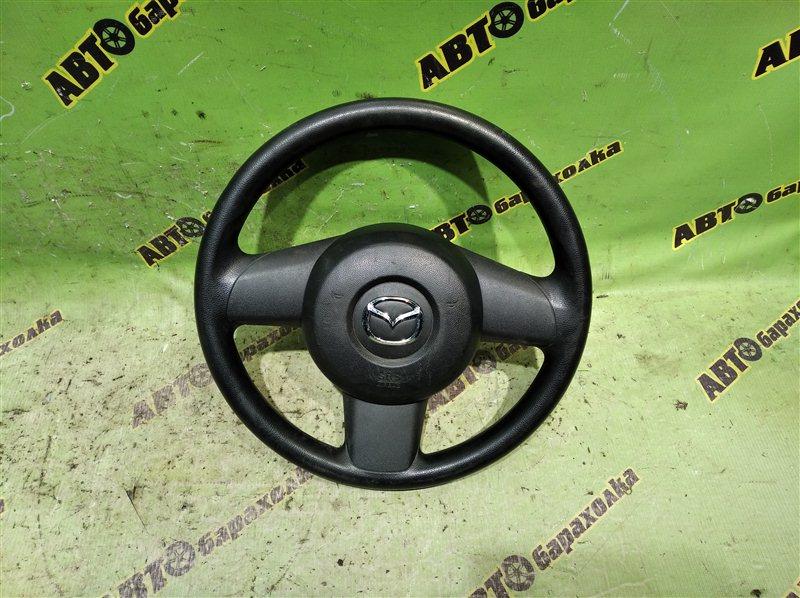Руль с airbag Mazda Demio DE3FS ZJ 2007