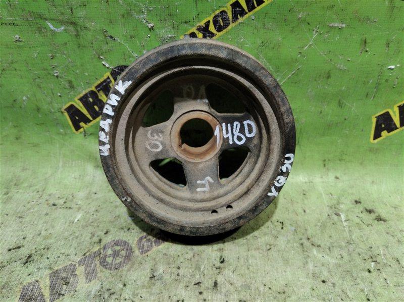 Шкив коленвала Nissan Cedric MY34 QV30