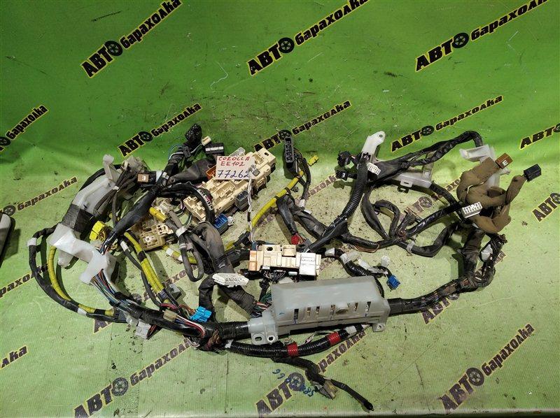 Коса под торпеду Toyota Corolla EE102 4E-FE