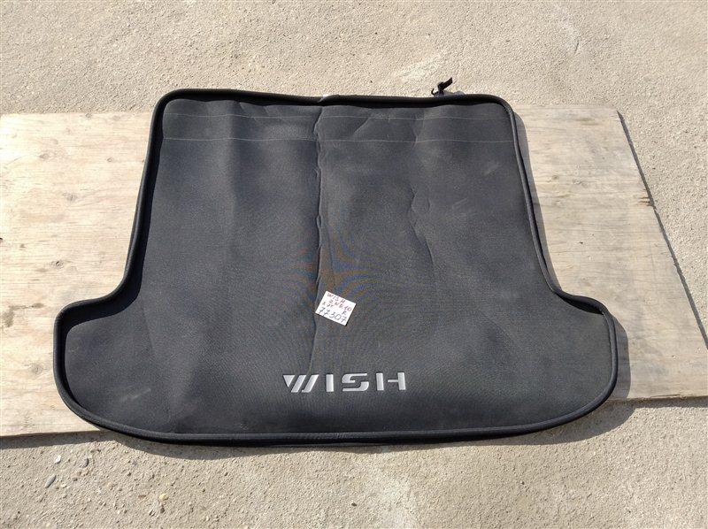 Коврик багажника Toyota Wish ZNE10 1ZZ-FE 2008 задний