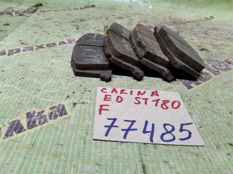 Колодки тормозные Toyota Carina Ed ST180 передние