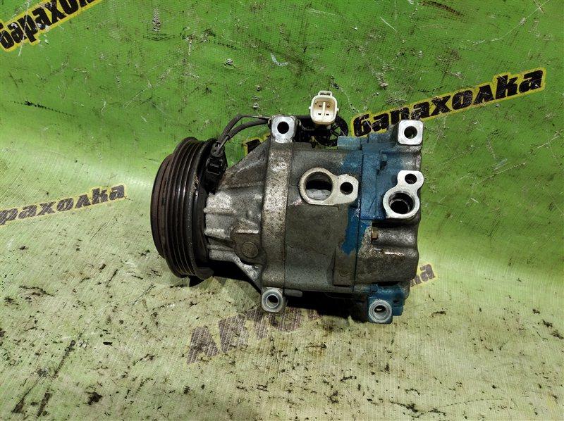 Компрессор кондиционера Toyota Succeed NCP51 1NZ-FE 2007