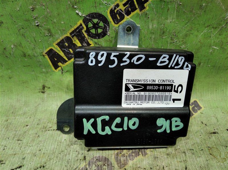 Блок переключения кпп Toyota Passo KGC10 1KR-FE 2006