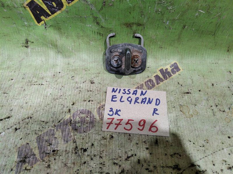 Петля замка багажника Nissan Elgrand ALE50 задняя