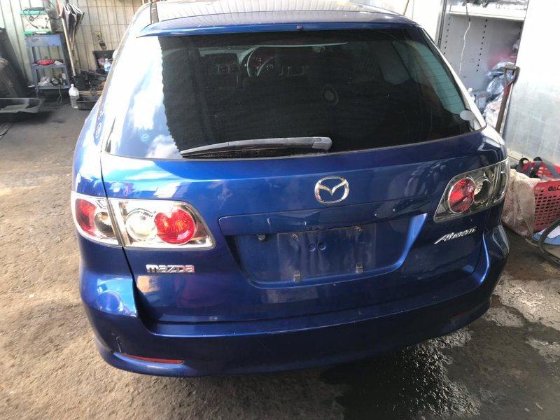 Дверь 5-я Mazda Atenza GY3W L3VE 2003 задняя