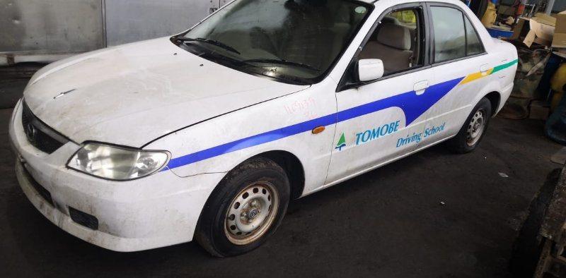 Дверь Mazda Familia BJ5P ZL 2003 задняя левая